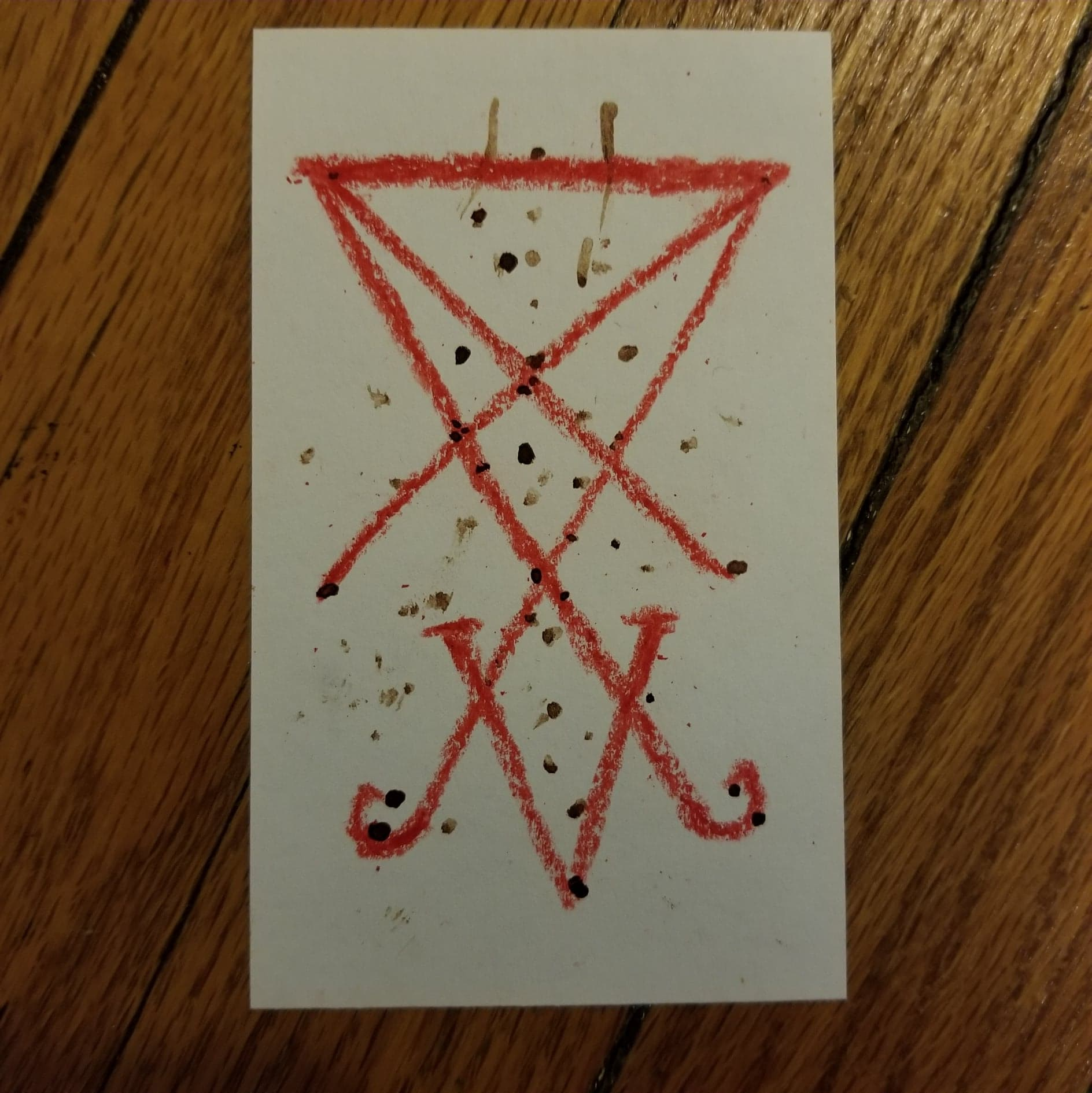 Lucifer's sigil used for blood magick. Links to a page about using blood magick for the left hand path occult practitioner.