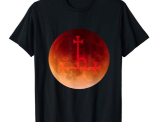 d95f9c23fd10 Shirts. Blood moon Lilith demon sigil t-shirt
